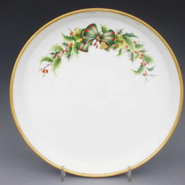 Cake Plate - Herend Christmas Edition Full