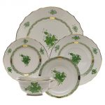 Herend Chinese Bouquet Green Place Settings