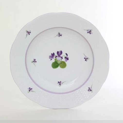 Herend Soup Plate - Chinese Bouquet Green