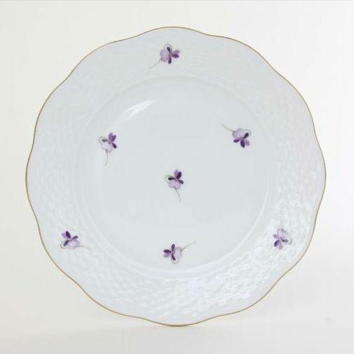 Dessert Plate - VIOLETS Sissi Edition
