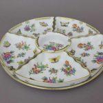 6 pcs. Hors D'oeuvre dish - Queen Victoria
