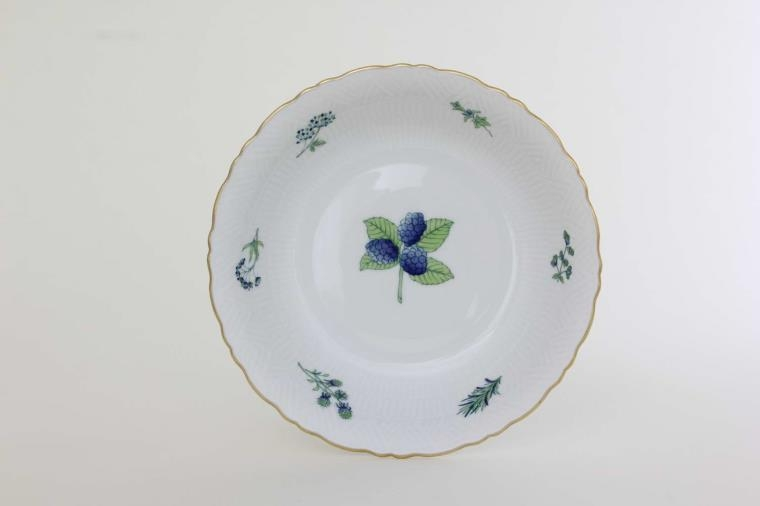 Herend Soup Plate w. Relief - JDHIG