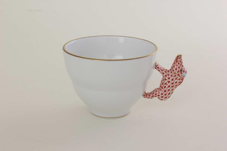 Cup with pig handle - FIshnet Rust