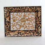 Jewellery Plate - Zoo Garden Rust