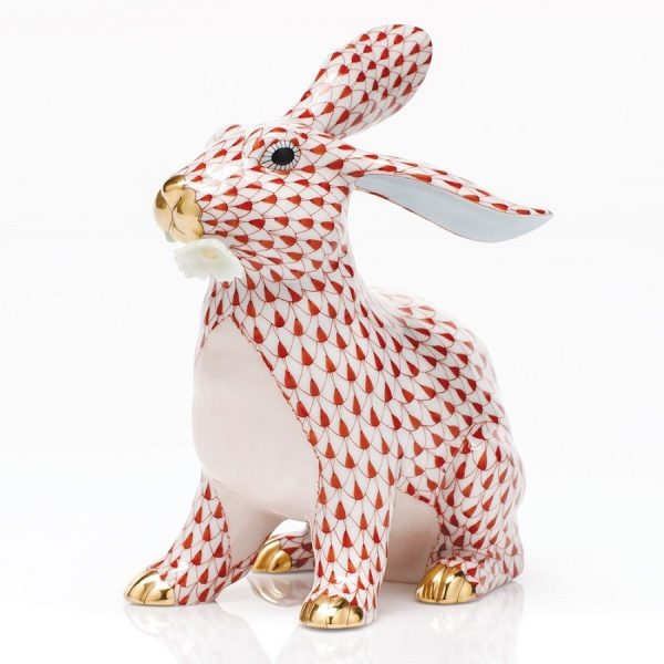 Herend Bunny With Daisy - FIshnet Rust