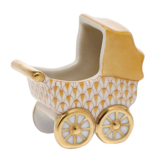 Baby Carriage - Herend Fishnet Butterscotch