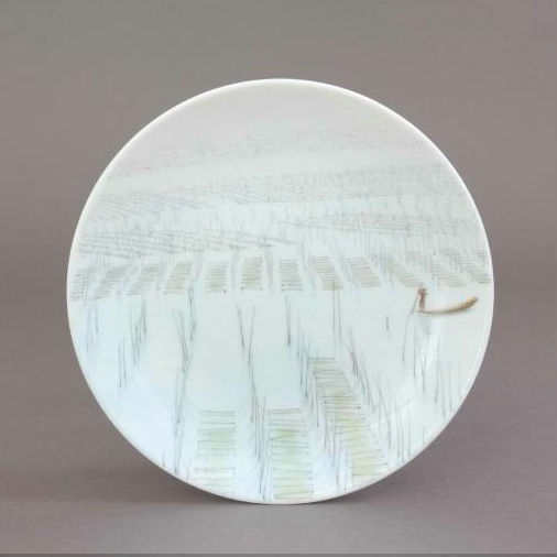 Herend TERRE Saucer - Limited Edition to 500 pcs.
