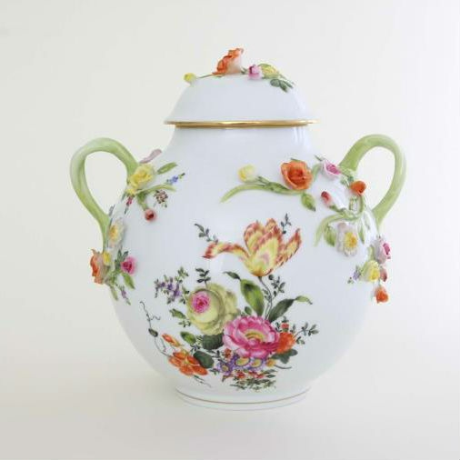 Herend Masterpiece Vase with lid - Limited Edition to 100 pcs.