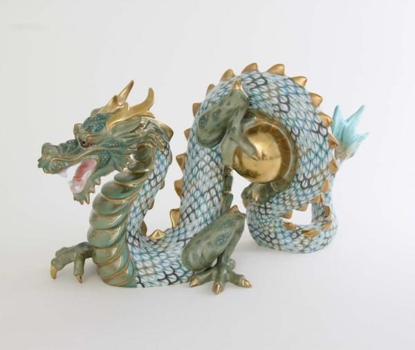 Herend Masterpiece VHSP123 DRAGON - Limited Edition to 100 pcs.