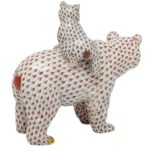 herend-figurine-grizzly-bear-and-baby-reserve-collection-limited-edition-to-150-pcs