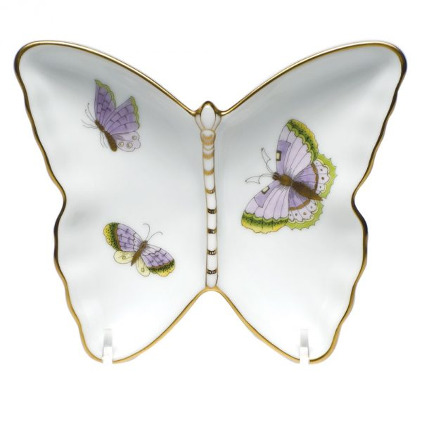 Herend Butterfly Dish - Royal Garden Butterfly