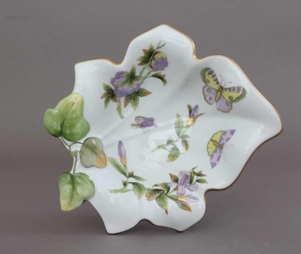Fancy dish, leaf-shaped - Royal Garden