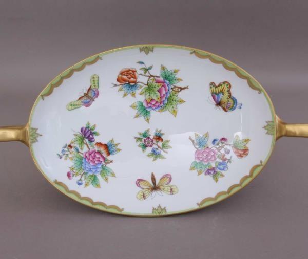 Dish on Foot - Herend Queen Victoria