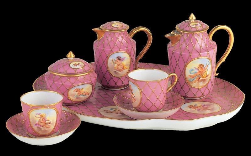 Herend Humboldt Tea Set Masterpiece
