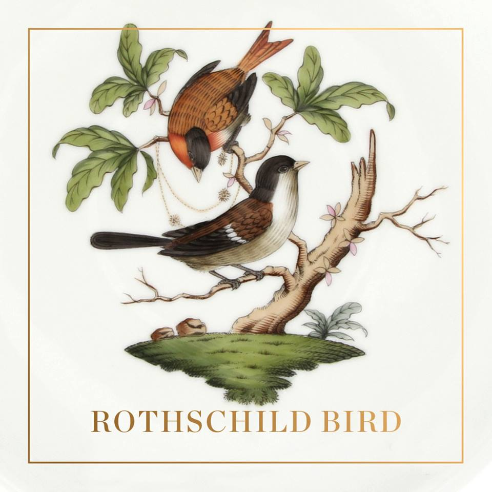 Herend Rothschild Bird Place Settings