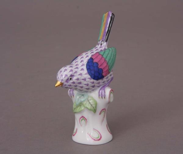 05047-0-00 VHL Small Bird Figurine Herend