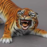 05086-0-00 MCD Herend Tiger Animal Figurine - Natural MCD Decor Herend's animal figurine are famous of having realistic position and very detailed hand painted decoration
