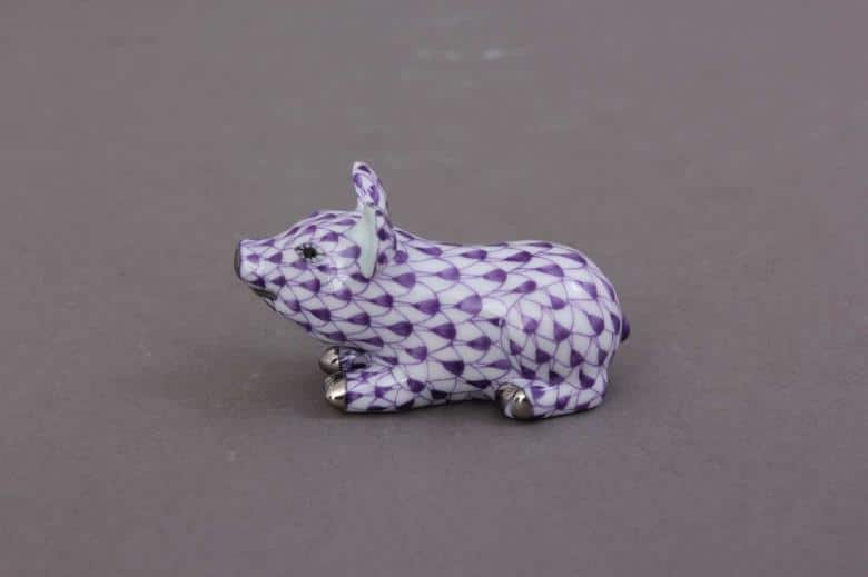 Herend-Small-Pig-Figurine-05354000VHL-PT