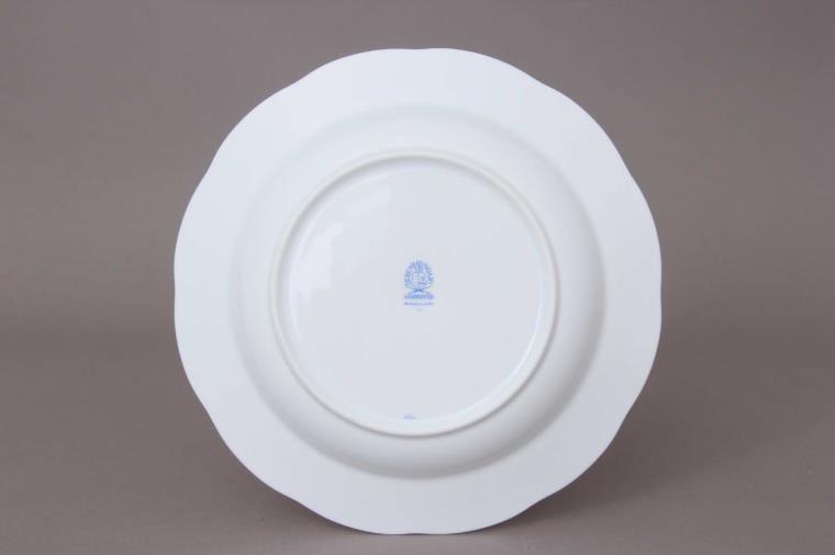 20503-0-00 NY Soup Plate Morning Glory Nyon