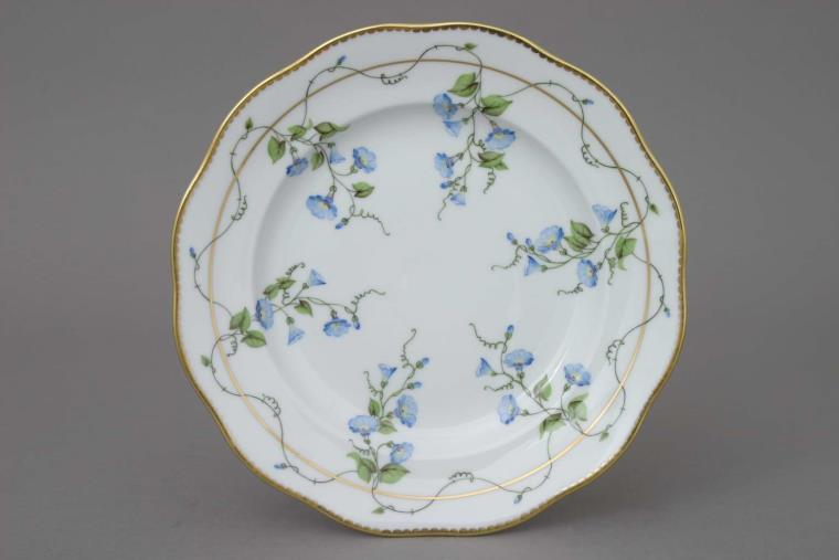 20521-0-00 NY Herend Nyon Desser Plate Morning Glory