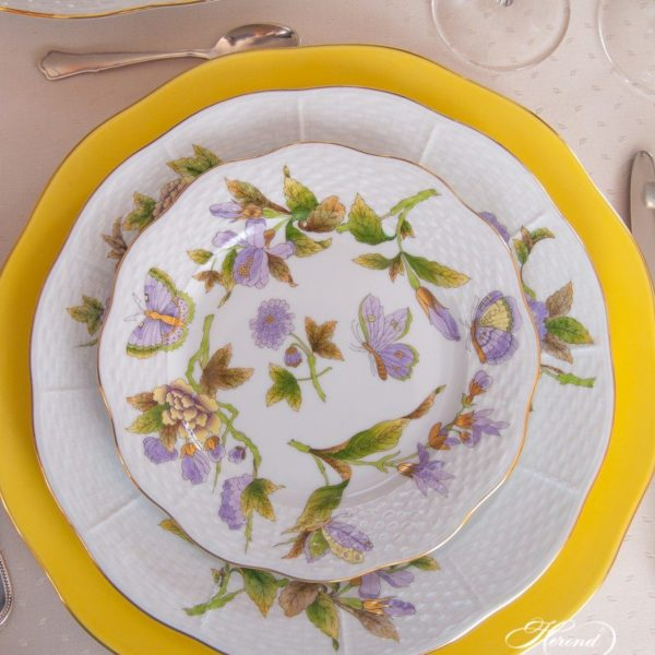 Royal Garden Dinner Set for 6 Herend Fine Porcelain