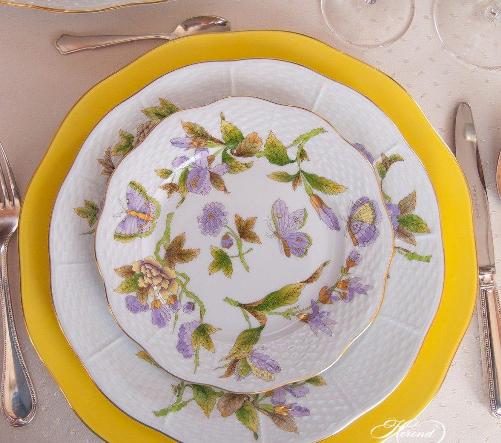 Royal Garden Dinner Set for 6 Herend Fine Porcelain
