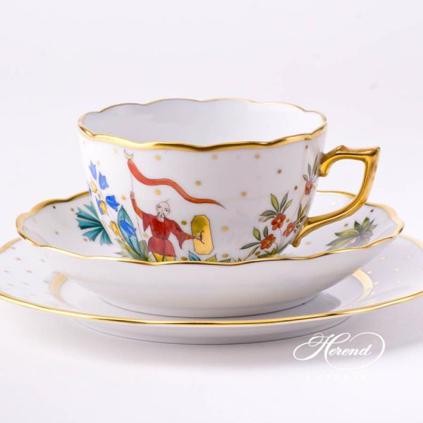 Mini Tea Set – Oriental Showmen - Herend Fine china