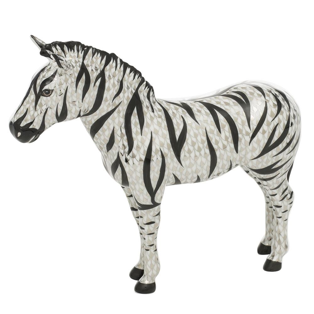 16037-0-00 VHSP121 Zebra Figurine - Reserve Collection