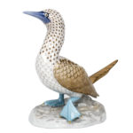 Herend Animal Figurines BLUE-FOOTED BOOBY 16014-0-00 VHSP108 small (1)