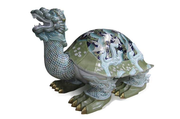 05946-0-00 SP989 Turtle of Eternity Masterpiece Figurine