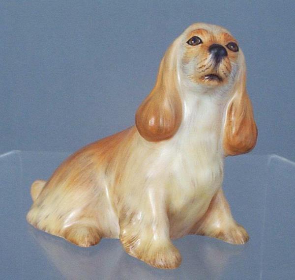 15455-0-00 MCD Herend Beige Matt Ntural Figurine