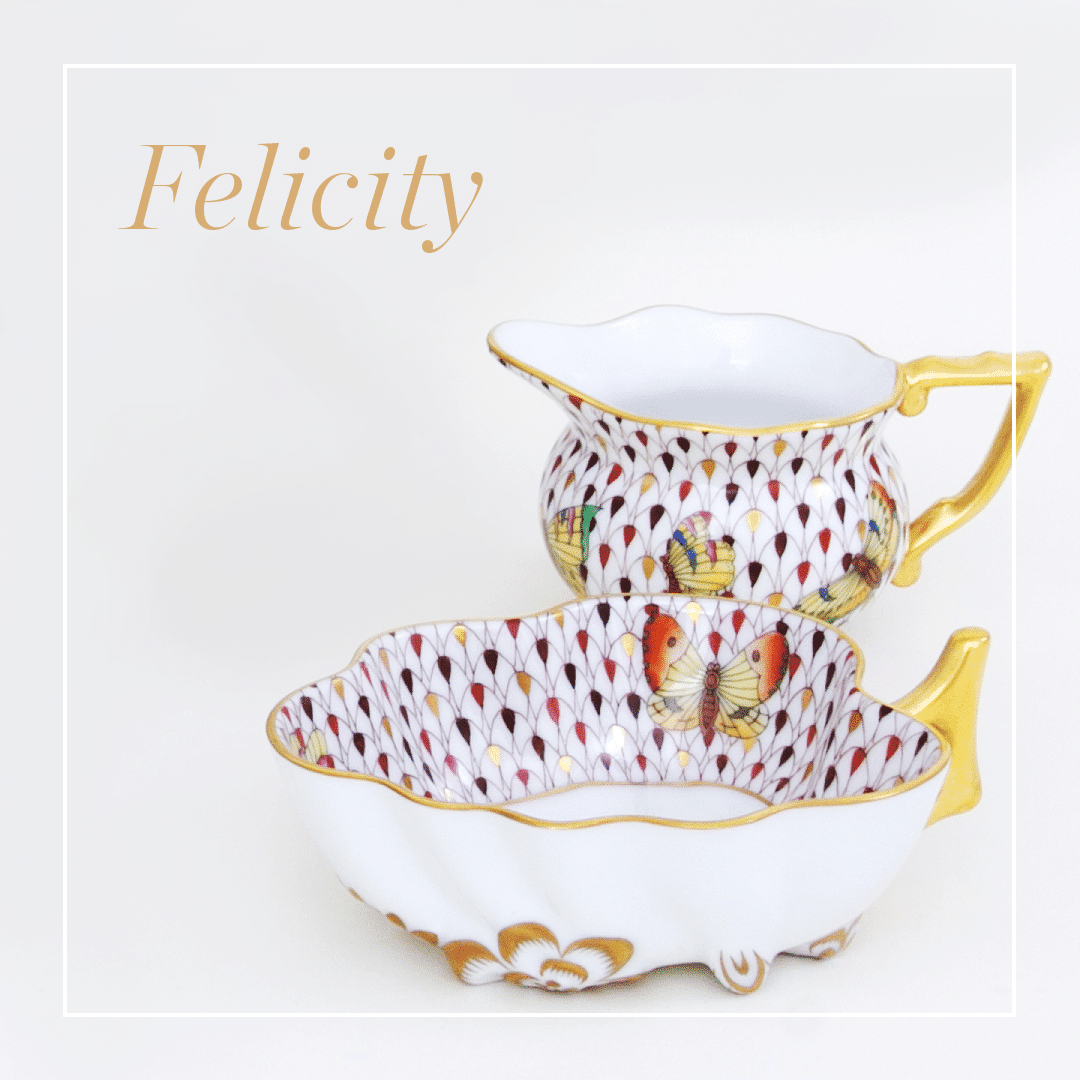 Felicity - Queen Victoria's 200th Birthday Anniversary - Limited Edition Tea Set for 2.