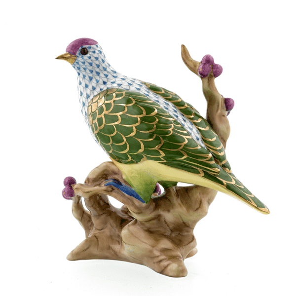 Herend Reserve Fruit Dove Animal Figurine