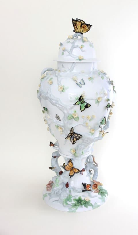 THE QUEENS BUTTERFLIES Pattern SP984 Numbered edition