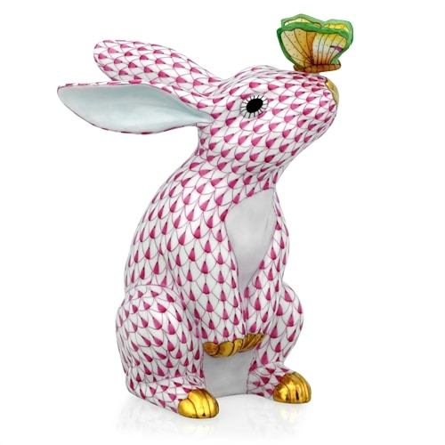 bunny-with-butterfly-on-nose-figurines-fishnet-color