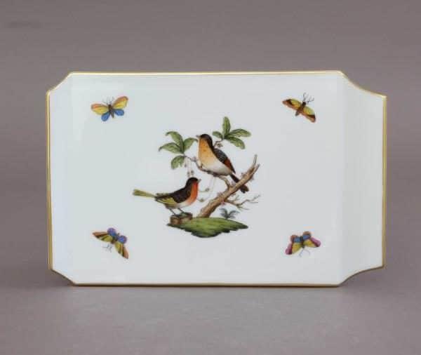 02459-0-00 RO Herend Rothschild Birds Cheese Board