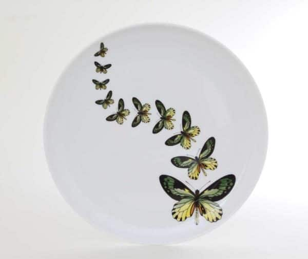 Dinner Plate - Butterfly Fluttering Spirits 02537-0-00 PLIG