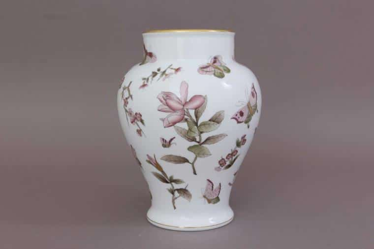 06572-0-15 VICT2 Pastel Victoria Vase with Button Knob