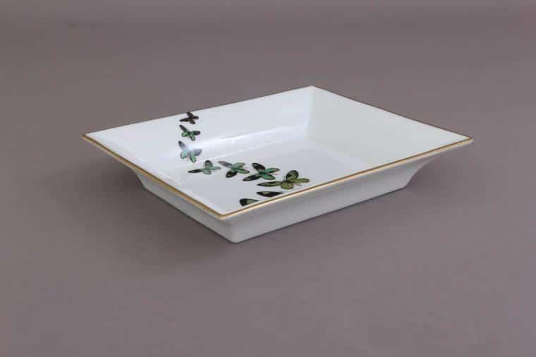 07631-0-00 PLVT-4 Butterfly Jewellery Decor Plate