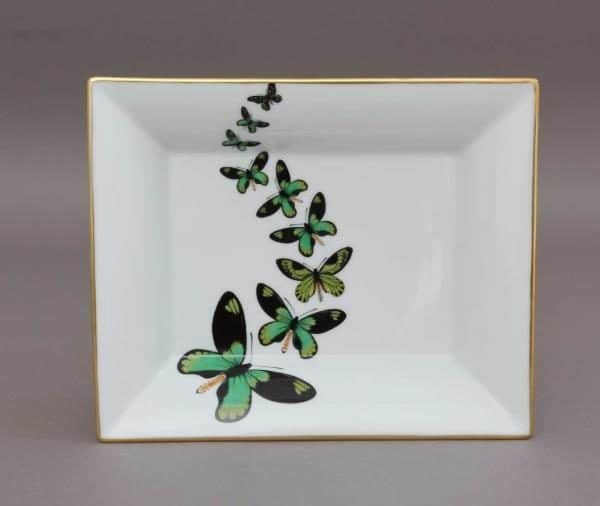 07631-0-00 PLVT-4 Butterfly Jewellery Decor Plate