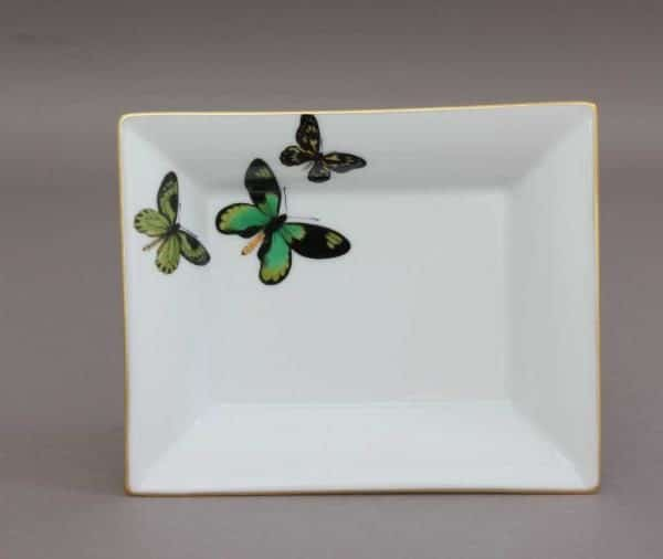 07633-0-00 PLVT-4 Small Jewellery Tray Butterfly Design