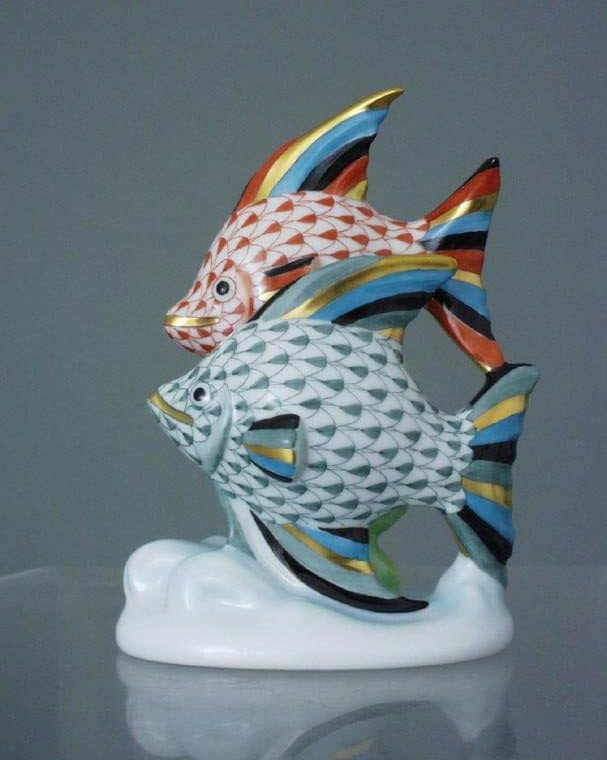 15273-0-00 VH+VHFV Herend Sail Fish