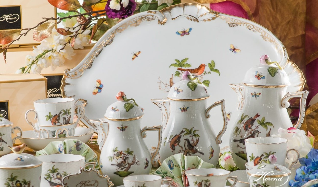 RO-Couple-of-Birds-Herend-Porcelain-Coffee-set-Gal-3