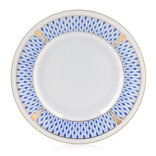 herend-fishnet-bread-butter-plate-blue_lg