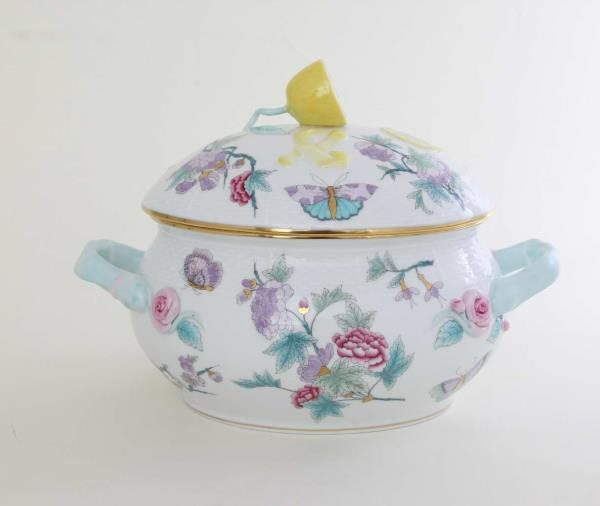 Royal Garden Soup Tureen Lemon Knob Harry Meghan 00008-0-03 EVICT2 small