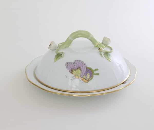 Butter dish, branch knob - Royal Garden William & Kate