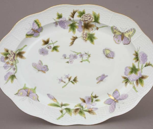 00102-0-00 EVICT1 Medium Oval Dish Herend FIne China