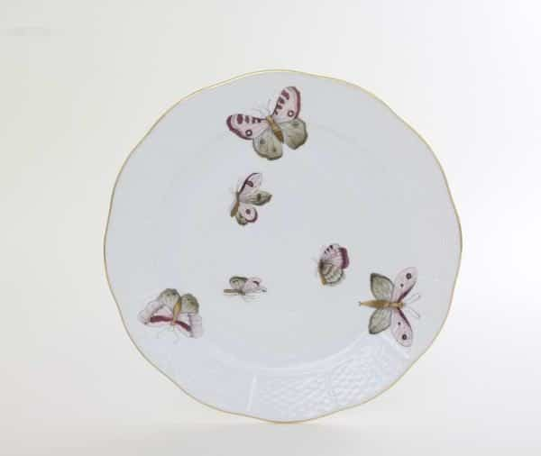 00524-0-00 VICTP2 Herend China Butterfly Dinnerware Pastel Victoria