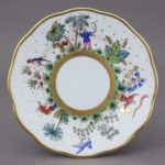 20515-0-00 FODO Bread & Butter Plate - Oriental Showmen Full Decor