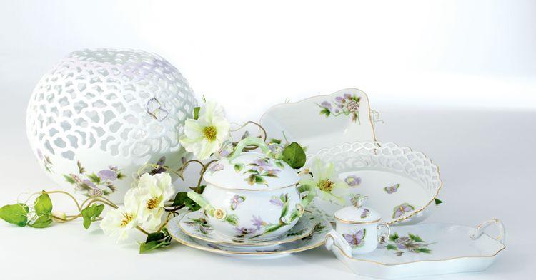 Herend Porcelain Royal Garden William and Kate Middleton